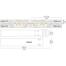 DYEDBRO Enduro World Series Frame Protection Kit, przezroczysty/kolorowy